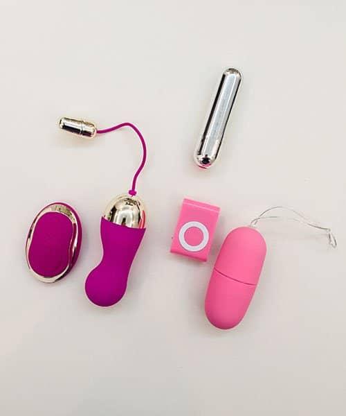 Vibrador Bullet e Cápsula Vibratória